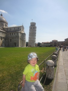 Cathal at Pisa