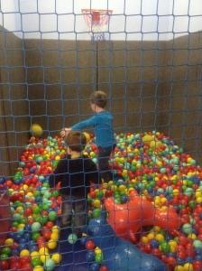 Aquarium play area