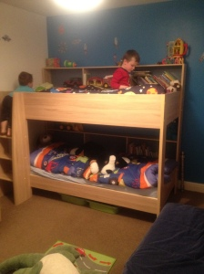 Checking out the bunks