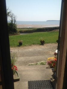 View from the front door, Duncannon (Image: Sinead Fox)