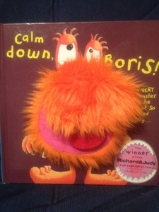 """Our well thumbed copy of """"Calm Down Boris"""""""