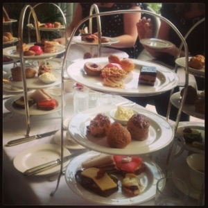 Afternoon tea at Monart