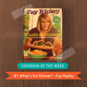 Cookbook of the Week (1)