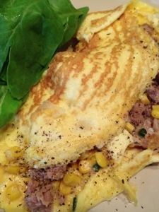Omelette (olld photo) Image: Sinead Fox