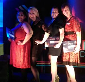 Laura, me, Sadhbh and Olivia