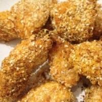 Pesto Chicken Nuggets