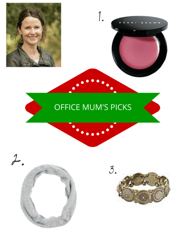 Office Mum present pic with profile