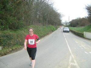 Me, running, 2012