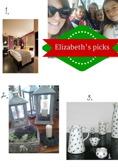 Elizabeth's picks 2015