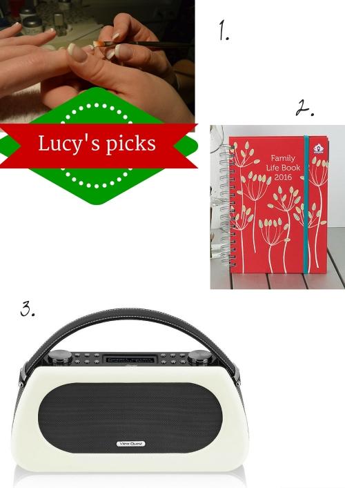 Lucy's picks 2015