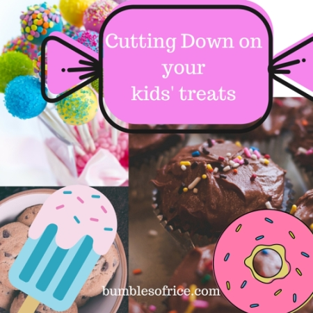 How to reduce your kids' treats intake